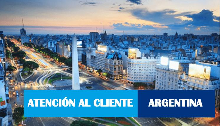 Atención al cliente Argentina 0800 numero gratuito