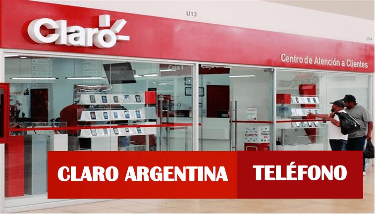 Número de Atención al cliente Claro Argentina