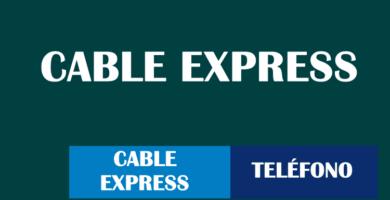 teléfono cable express 0800 atención al cliente