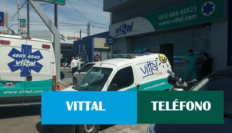 Teléfono de Atención al cliente Vittal Argentina