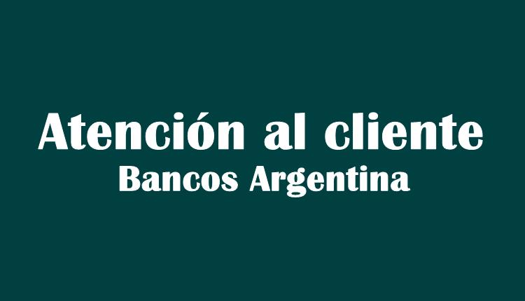 atención al cliente bancos