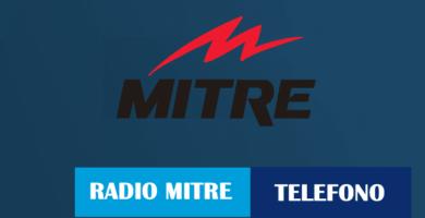 teléfono Radio Mitre Argentina de Atención al Cliente
