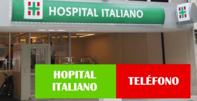 Teléfono 0800 atención al cliente Hospital Italiano