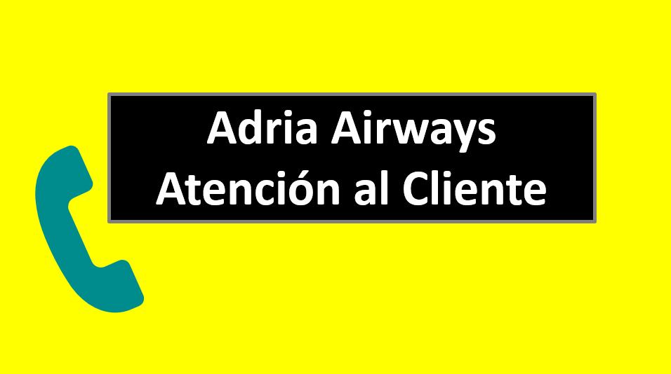 Adria Airways Atención al Cliente