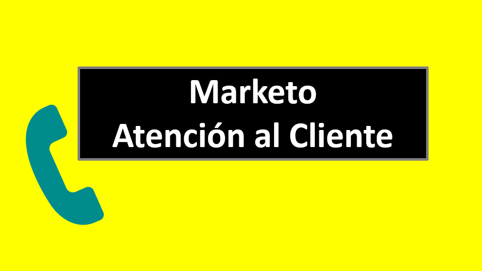 Marketo Atención al Cliente