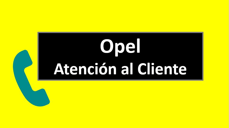 Opel Atención al Cliente
